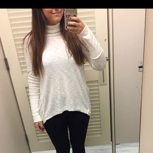 Free people white sweater!